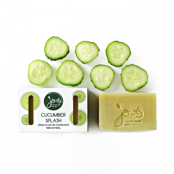 Sapun natural Cucumber Splash, Jovis, 100g 0