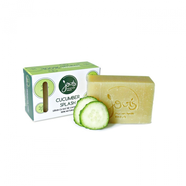 Sapun natural Cucumber Splash, Jovis, 100g 1