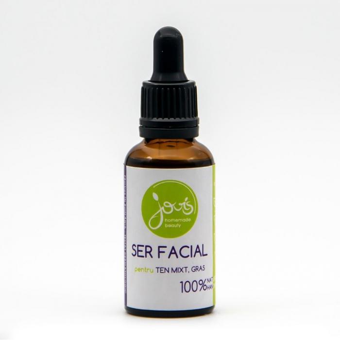 Ser facial pentru ten mixt, gras | Jovis Homemade Beauty, 30ml [0]