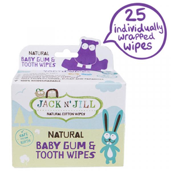 Servetele dinti si gingii pentru prevenirea cariilor de biberon, Jack n' Jill 0