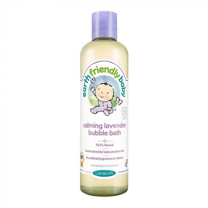 Spuma de baie pentru bebelusi, Lavanda Linistitoare | Earth Friendly Baby [0]