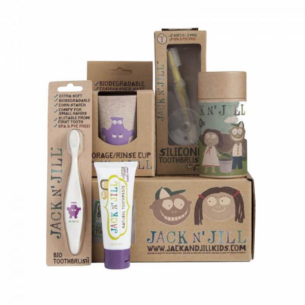 Set cadou igena orala copii, Hippo Jack N' Jill 0