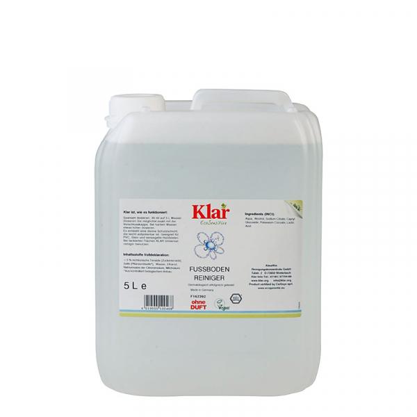 Soluție bio pentru pardoseală, fără parfum, Klar, 500 ml 0