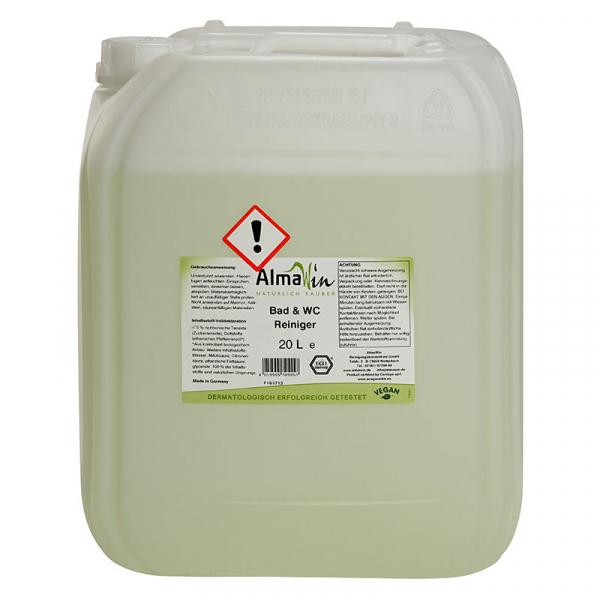 Solutie bio pentru curatat baia, AlmaWin, 20 l 0