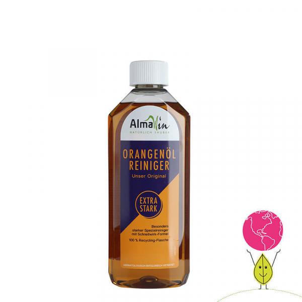 Solutie bio universala cu extract de portocale, Orange Cleaner Extra Strong, AlmaWin 0