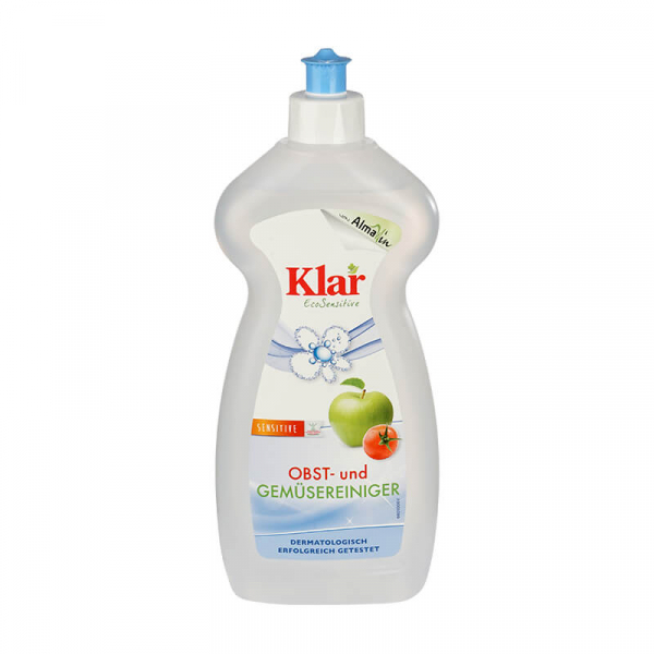 Solutie ecologica pentru spalat fructe si legume, Klar Sensitive, 500ml 0