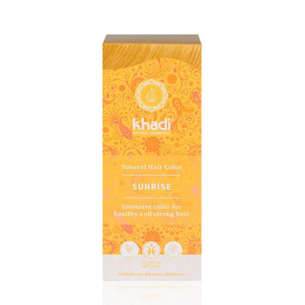 Sunrise, vopsea de păr naturală – Răsărit de soare, Khadi, 100g 0