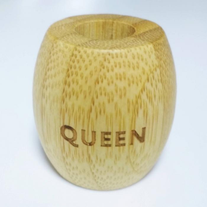 Suport pentru periuță de dinți ecologică, Queen, I Love Eco 1