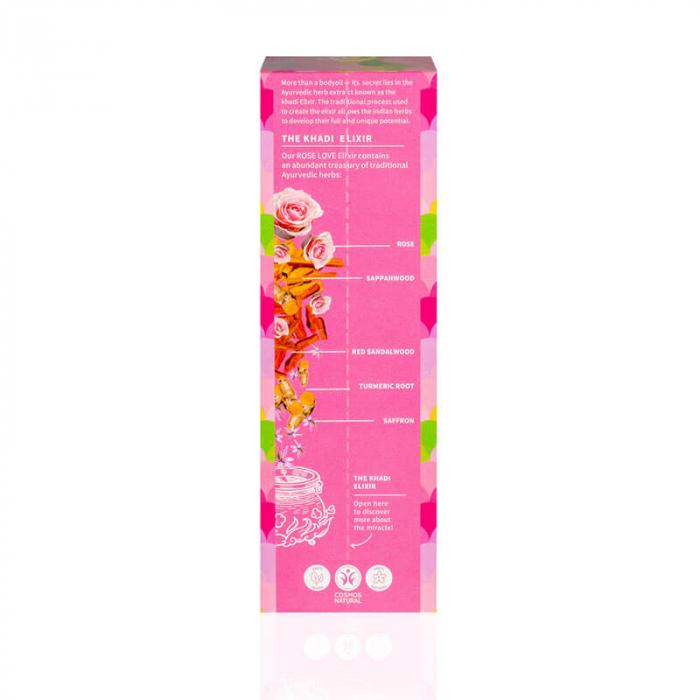 Ulei ayurvedic elixir Rose Love - Skin & Soul | Khadi, 100 ml [1]