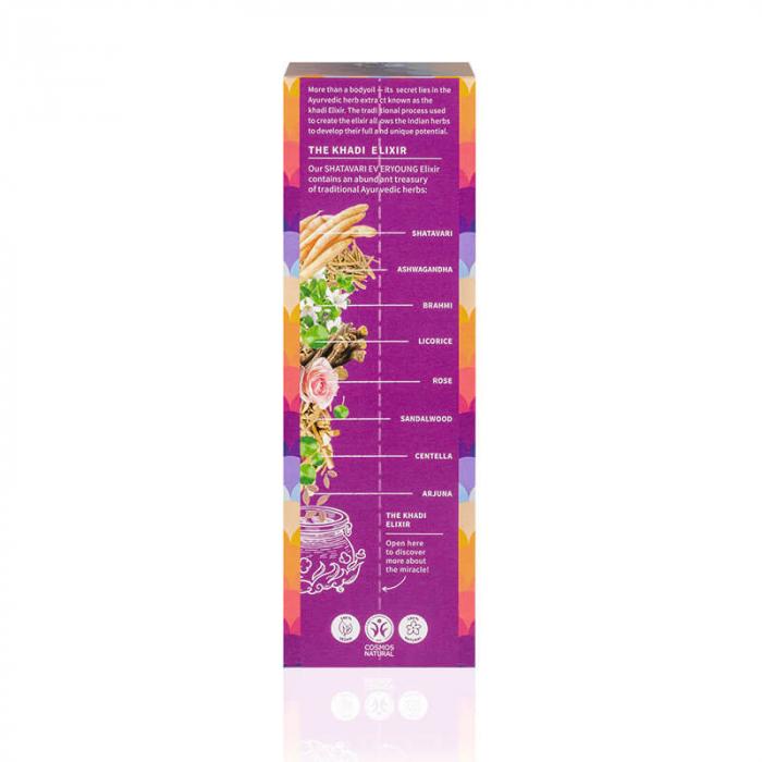 Ulei ayurvedic elixir Shatavari Everyoung - Skin & Soul | Khadi, 100 ml [1]