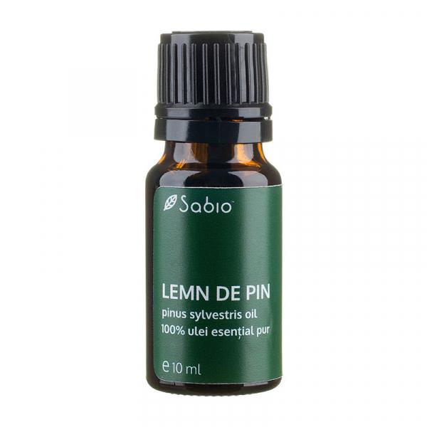 Ulei esential pur de Lemn de Pin, Sabio Cosmetics, 10ml 0