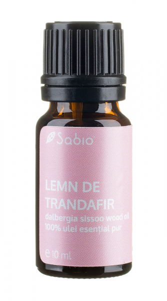 Ulei esential pur de Lemn de Trandafir, Sabio Cosmetics, 10ml 0