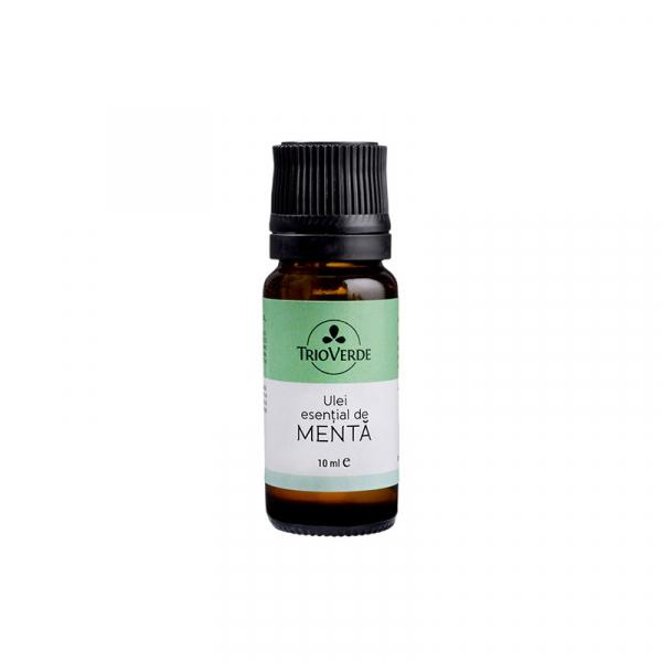 Ulei esential pur de Menta, Trio Verde, 10ml 0