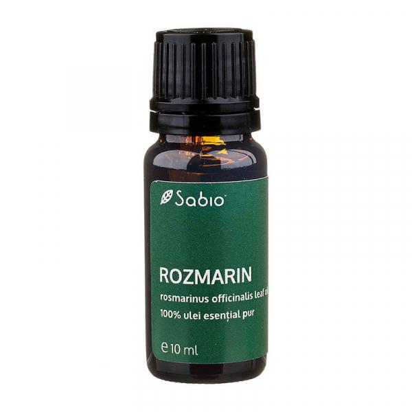 Ulei esential pur de Rozmarin Sabio Cosmetics, 10ml