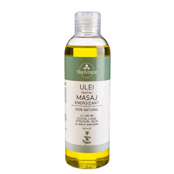 Ulei pentru masaj Energizant, Trio Verde, 200ml 0