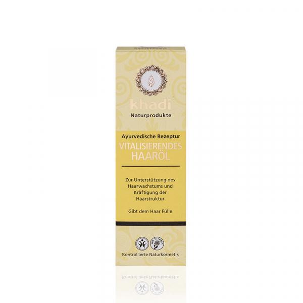 Ulei tratament cu ulei de ricin pentru stimularea cresterii parului, Khadi, 100 ml 1