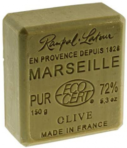 Sapun extra-pur de Marsilia Verde, Rampal Latour, 150g1