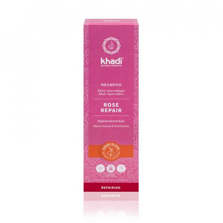 Șampon elixir păr uscat și deteriorat, Rose Repair | Khadi, 200 ml1