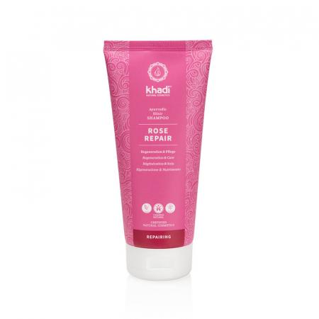 Șampon elixir păr uscat și deteriorat, Rose Repair | Khadi, 200 ml0
