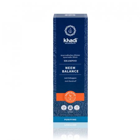 Șampon elixir antimătreață, Neem Balance | Khadi, 200 ml1
