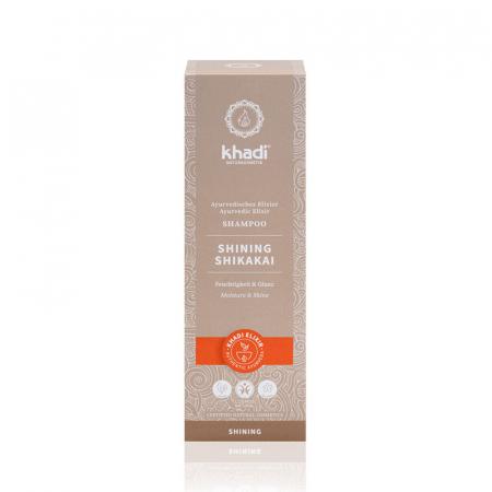Șampon elixir hidratare și strălucire, Shining Shikakai | Khadi, 200 ml1