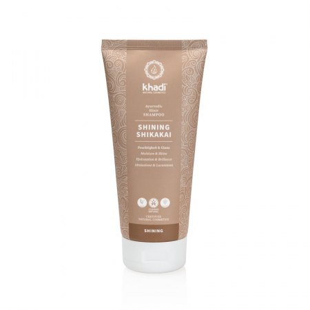 Șampon elixir hidratare și strălucire, Shining Shikakai | Khadi, 200 ml0