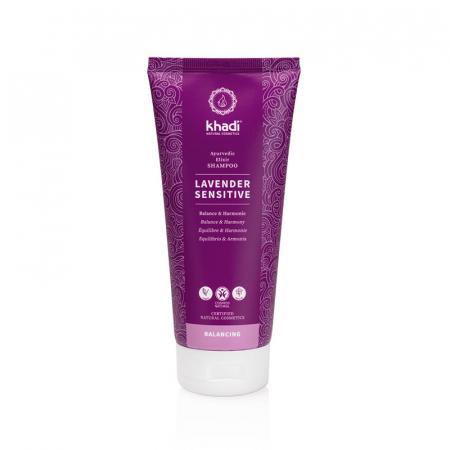 Șampon elixir scalp sensibil, Lavender Sensitive | Khadi, 200 ml0
