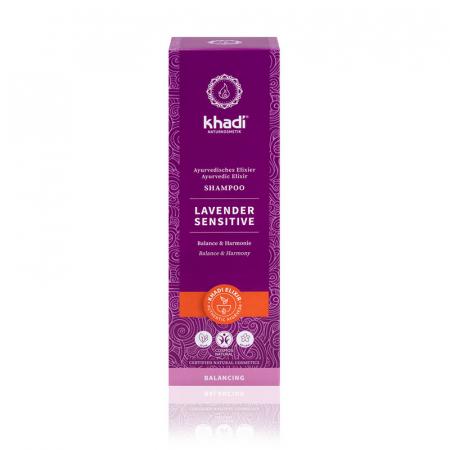 Șampon elixir scalp sensibil, Lavender Sensitive | Khadi, 200 ml1