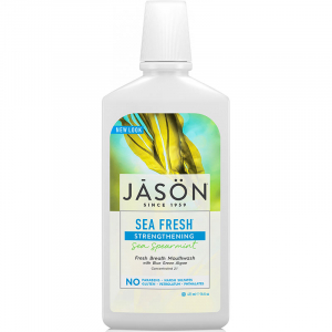Apa de gura Sea Fresh pt detoxifierea si intarirea dintilor, Jason, 473ml