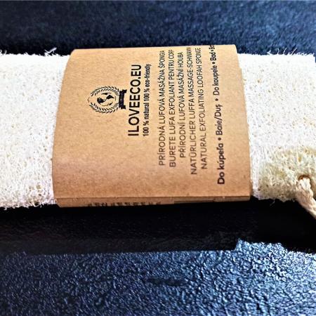 Burete lufa exfoliant pentru baie și masaj | Iloveeco3