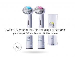 Rezerva universala periuta de dinti electrica, tehnologie cu argint, NovaCare, galben2
