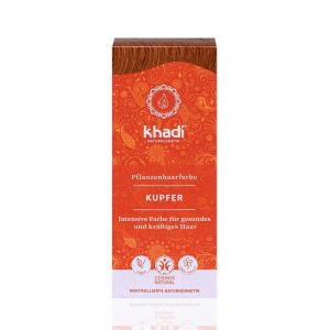 Copper, vopsea de păr naturală - Cupru, Khadi, 100g1