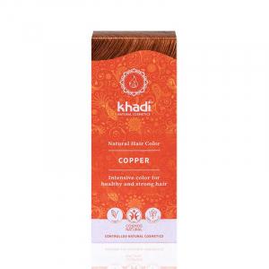 Copper, vopsea de păr naturală - Cupru, Khadi, 100g0