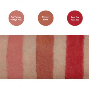 Creion contur pentru buze bio Vieux Rose, Avril1