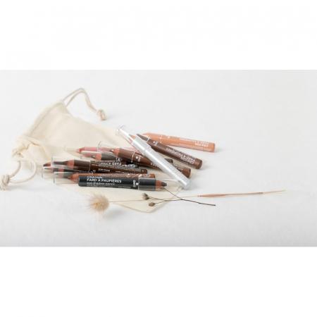Fard de pleoape creion bio, sidefat, Grège | Avril [1]