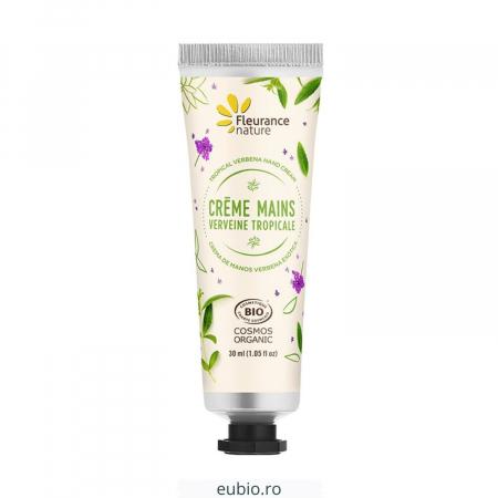 Cremă de mâini bio cu verbină tropicală | Fleurance Nature, 30ml [1]