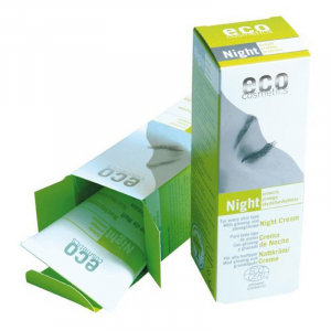 Crema bio de noapte cu ginseng si rodie | Eco Cosmetics, 50ml