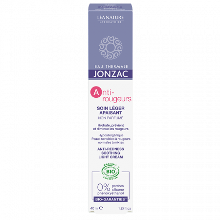 Anti-Rougeurs - Crema calmanta anti-roseata ten normal-mixt, Jonzac, 40ml0