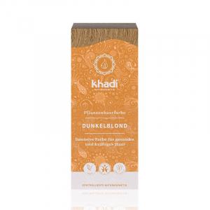 Dark Blonde, vopsea de par naturala - Blond Inchis, Khadi, 100g1