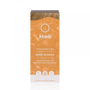 Dark Blonde, vopsea de par naturala - Blond Inchis, Khadi, 100g0