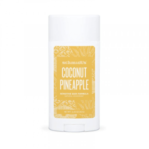 Deodorant natural & vegan Schmidt's Sensitive, Skin Coconut + Pineapple Stick, 92g0