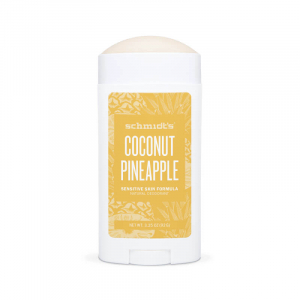 Deodorant natural & vegan Schmidt's Sensitive, Skin Coconut + Pineapple Stick, 92g1