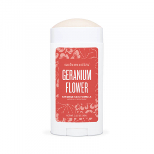 Deodorant natural & vegan Schmidt's, Sensitive Skin, Geranium Flower, Stick, 92g1