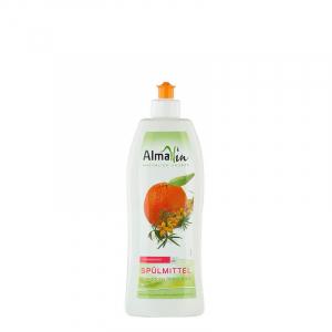 Detergent bio pentru vase, Mandarine si Catina alba, AlmaWin, 500ml