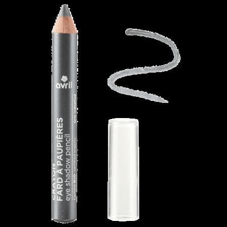 Fard de pleoape creion bio, sidefat, Gris métallisé | Avril [0]