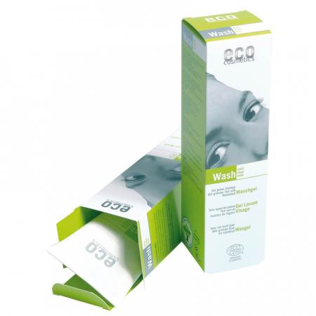 Gel de curatare bio cu ceai verde si echinacea | Eco Cosmetics, 125ml