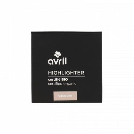 Highlighter Quartz Roz, certificat organic | Avril [0]
