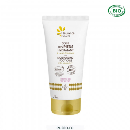 Tratament hidratant picioare cu laptisor de matca   Fleurance Nature, 75ml [0]