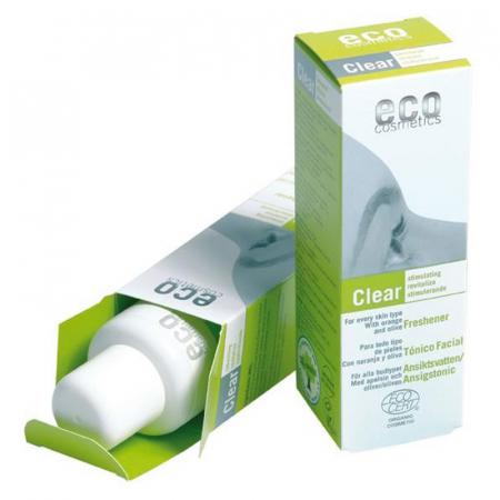 Lotiune tonica pentru fermitate cu acid hialuronic | Eco Cosmetics, 100ml