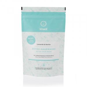 Mască naturală DETOX pentru păr, Khadi, 150g0
